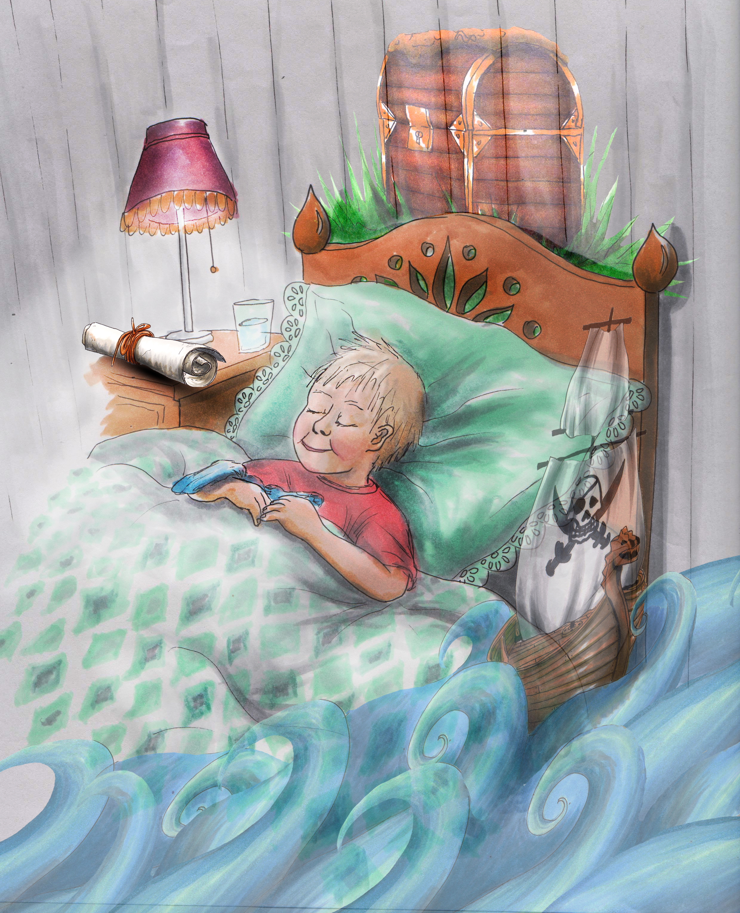 Theo i sengen.jpg