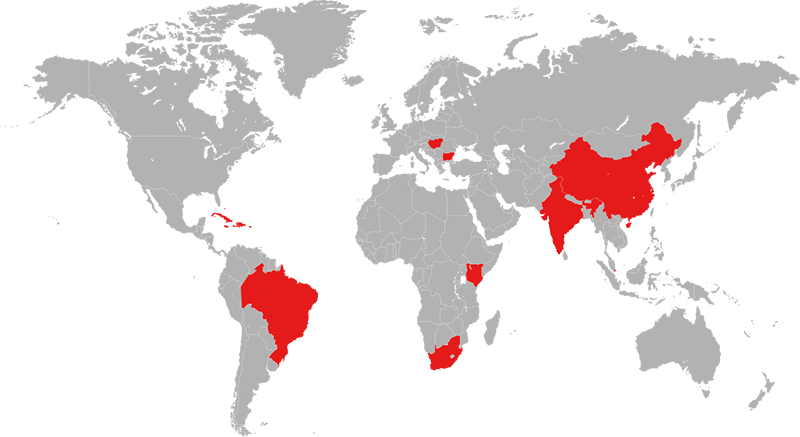 Map of target countries.png