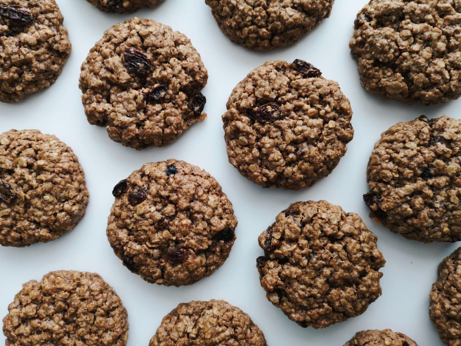 vegan oatmeal cookies taarten van jansen