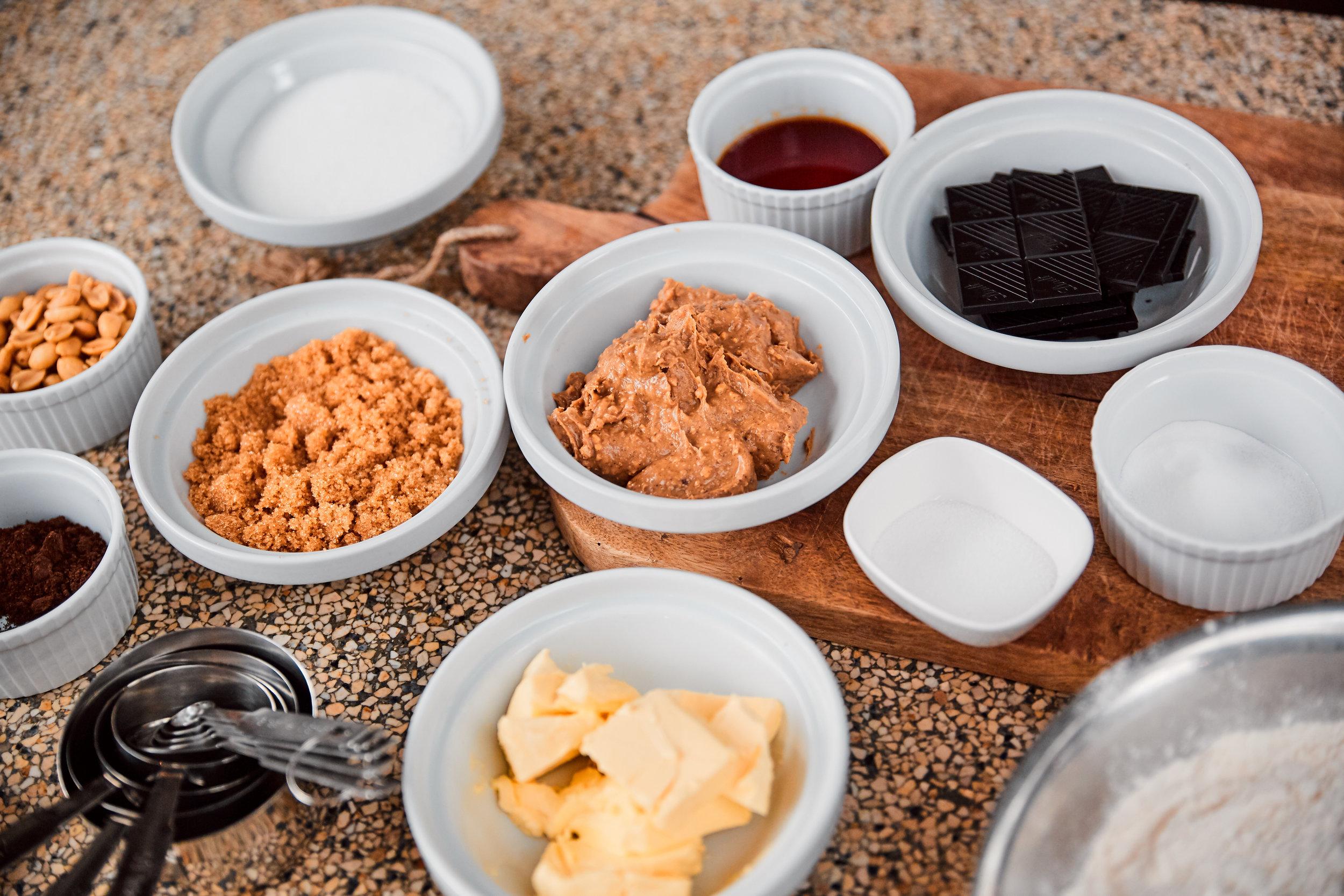 vegan pindakaas chocolade koeken taarten van jansen