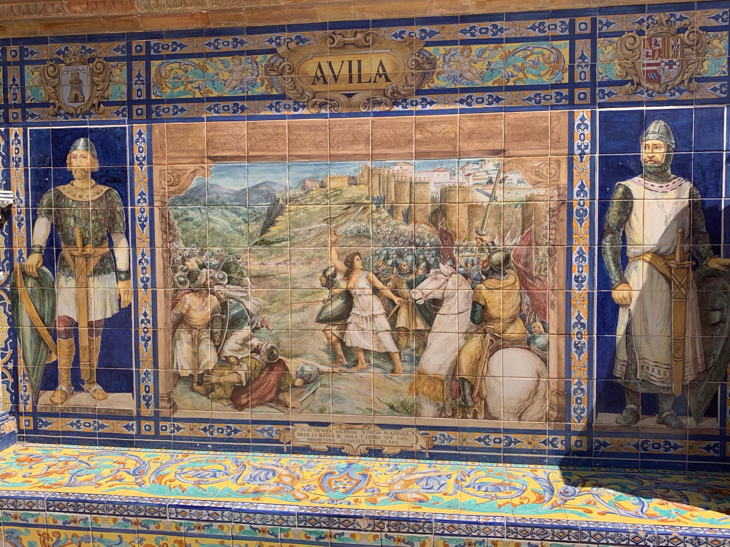 Moorish Capitulation, Plaza de Espana
