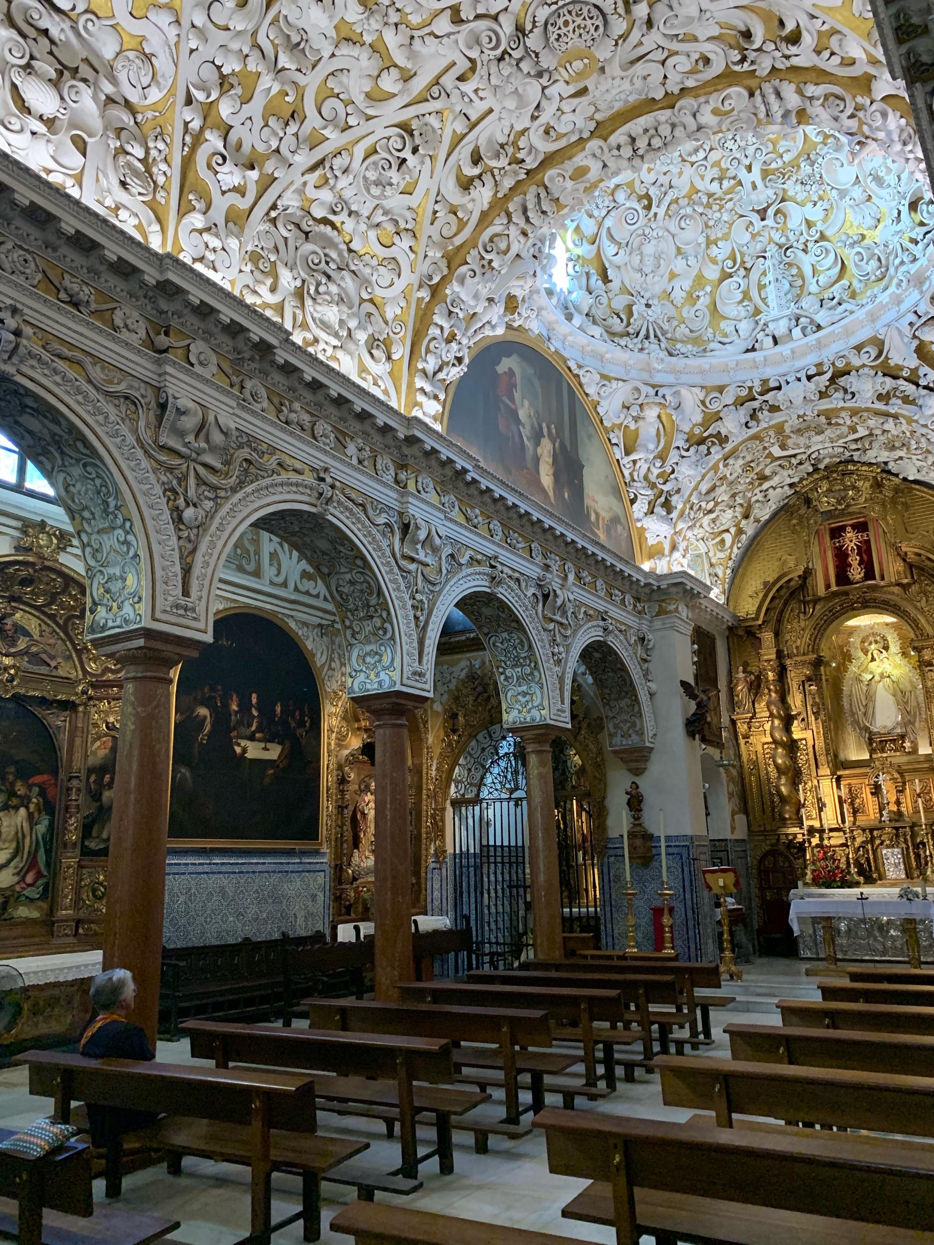 Santa Maria de Blanca Interior
