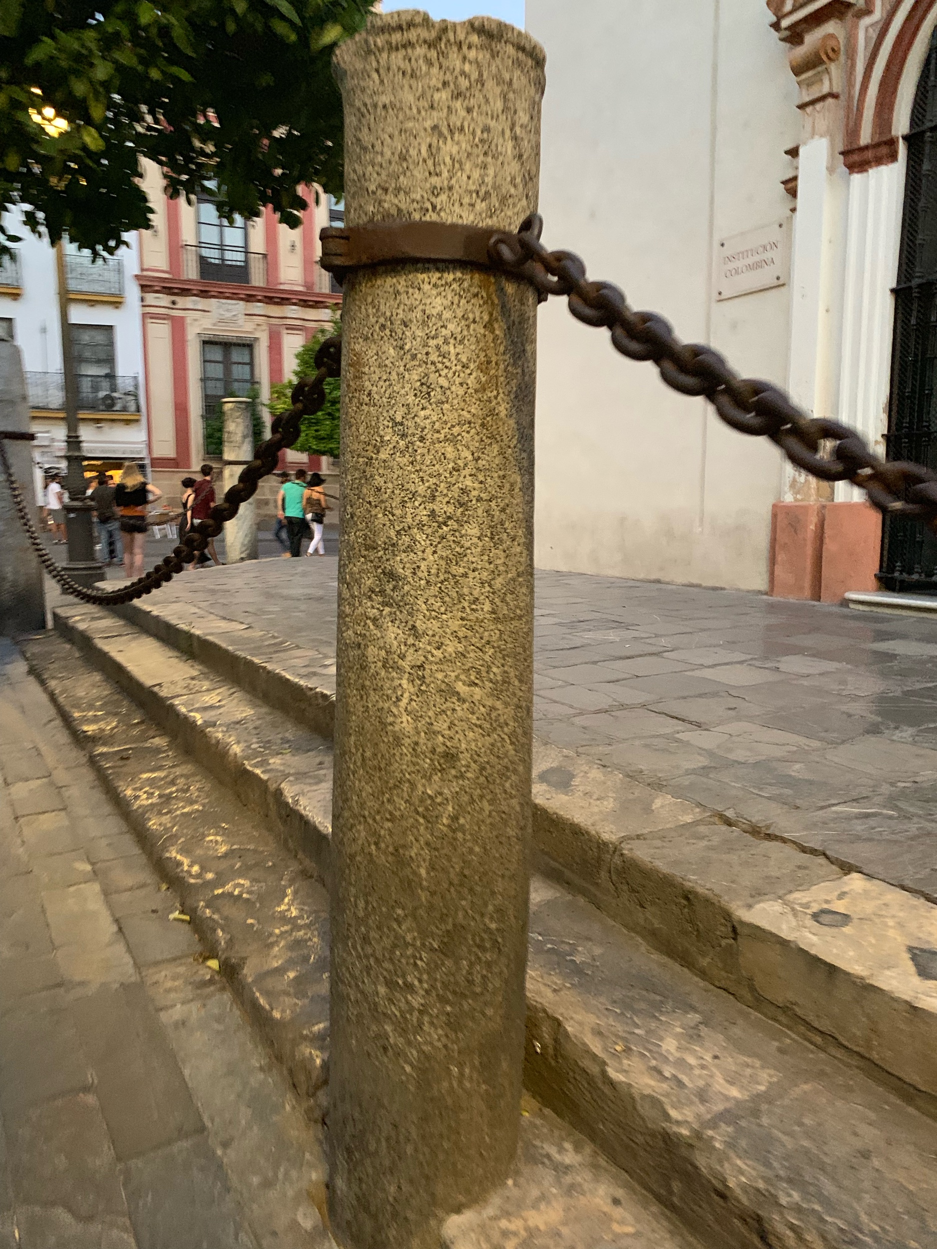 Sanctuary Chains Around the Cathedral