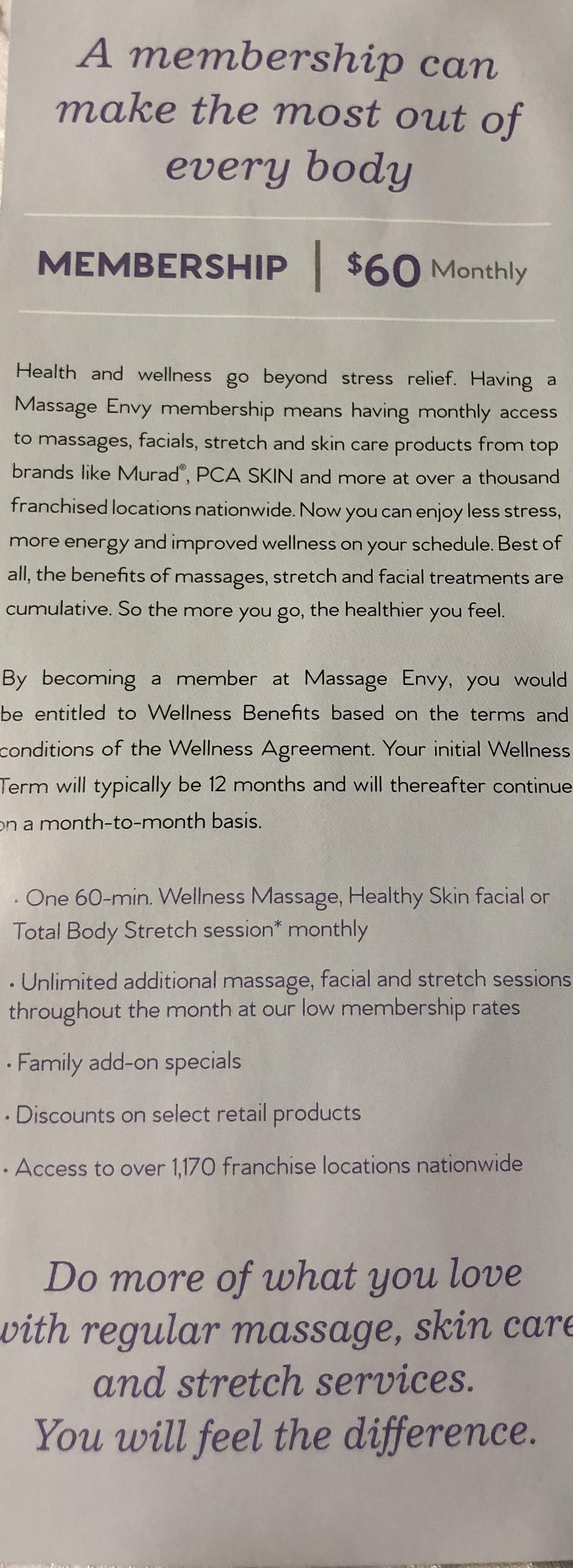 Additional Membership Details