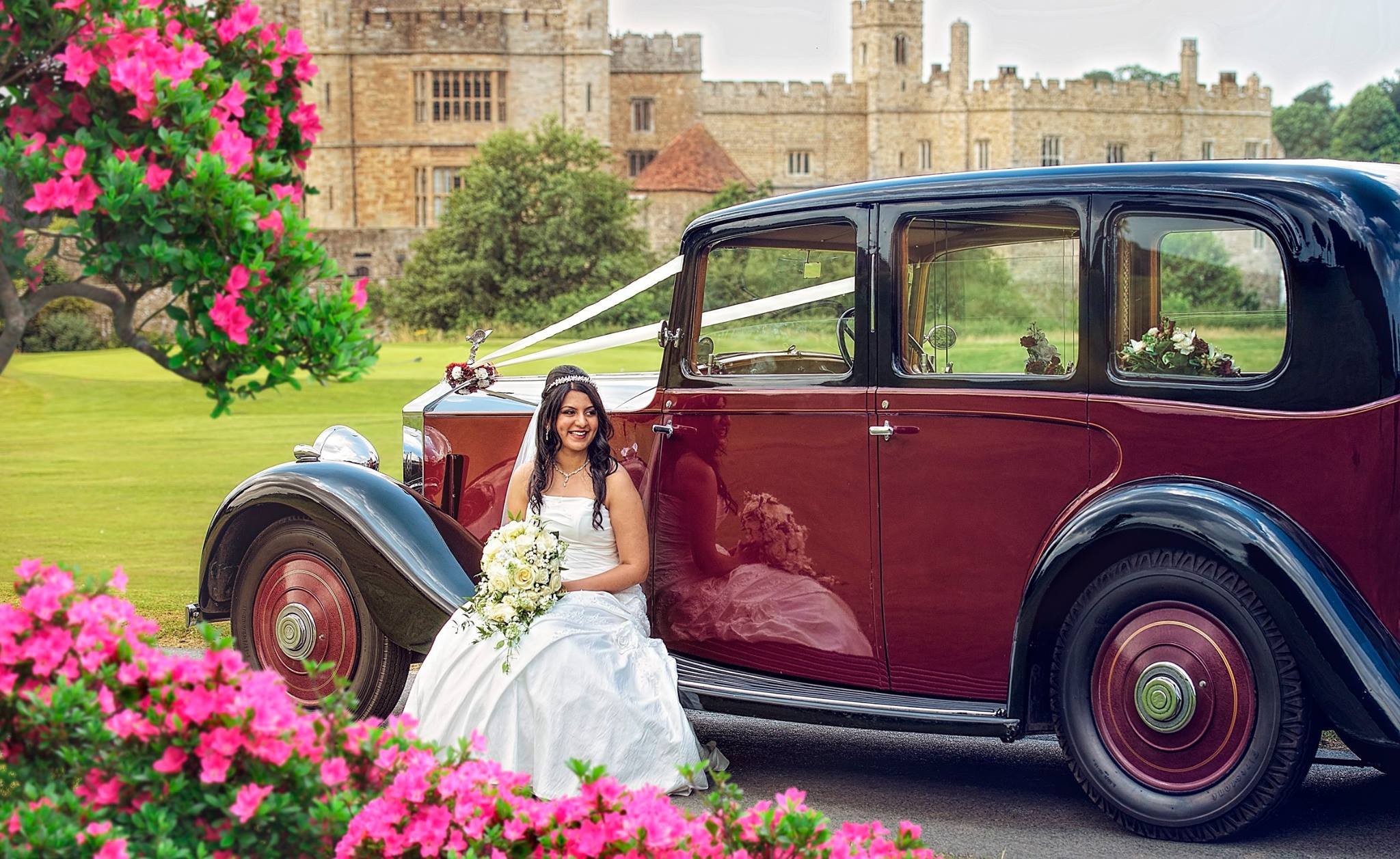 Leeds Castle wedding photographer