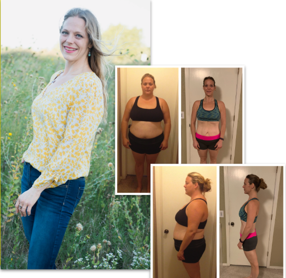 "Meet Lacy:Mom, Farmer's Insurance, Oklahoma - ""The [Macros Made Easy Program] showed me how to make being healthy a part of my everyday. I have completely changed my mindset about health and self in the last year. I am down 105 lbs and have more confidence than I've felt in years."""