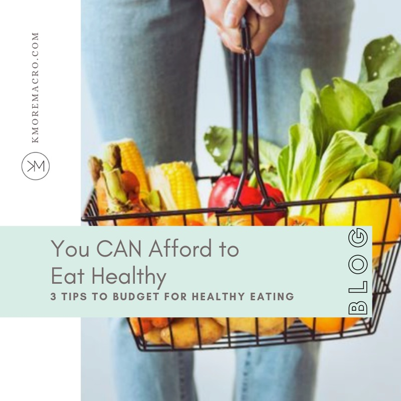 Pin You CAN afford to eat healthy: 3 tips to budget for healthy eating.jpg