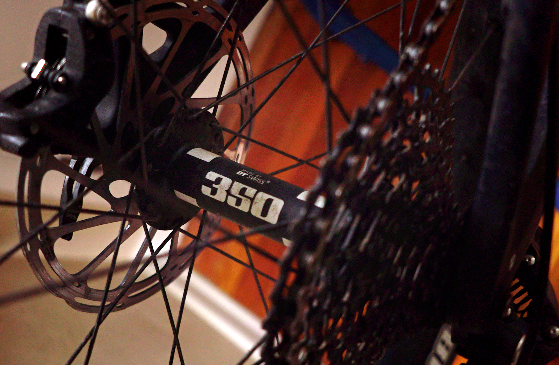 DT Swiss Big Ride 350 - I went with these hubs because they are reliable, competitively priced and easy to rebuild if need be.