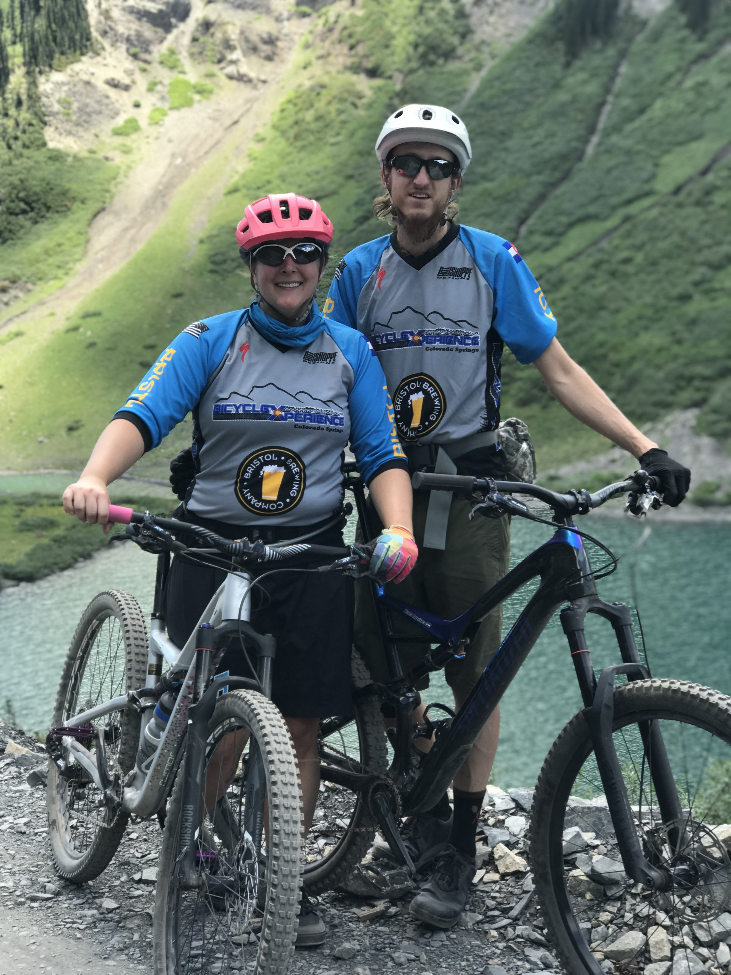 Me and my boyfriend, Nate, out for a ride in Crested Butte, Colorado.
