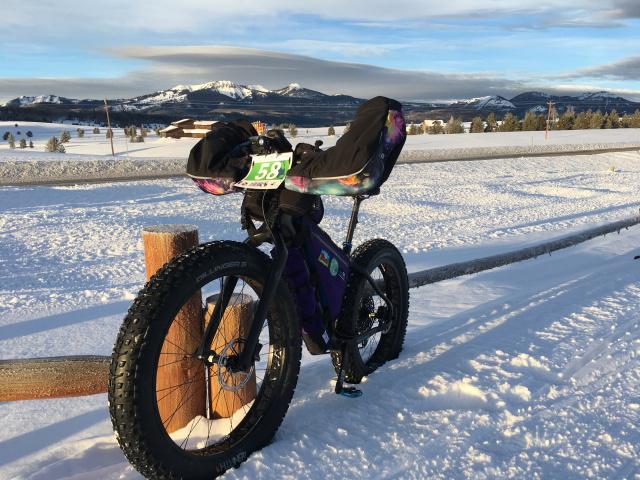 My race bike, Falcor, a Salsa Beargrease