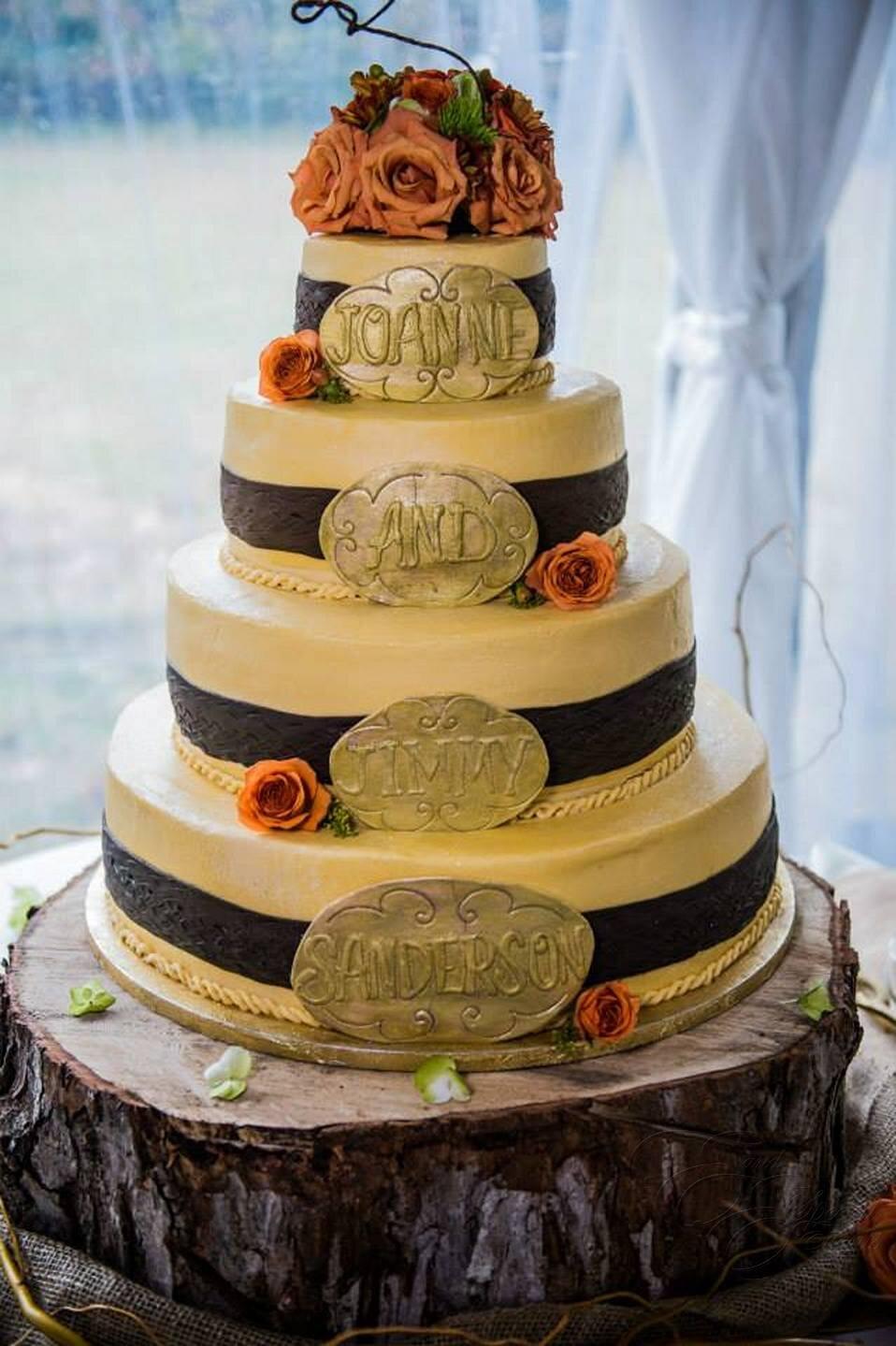 Cowboy theme wedding cake.jpg