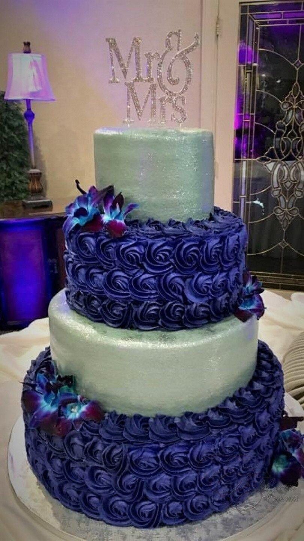 silver and purple wedding cake.jpg