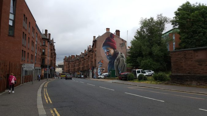 Glasgow – the local authority which houses the most asylum seekers in the UK.[1]