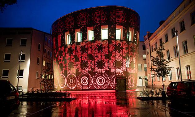 "The kick-off event venue ""Humanities Theatre"" at Department of Theology, Uppsala University. Photo: Uppsala University Image Bank."