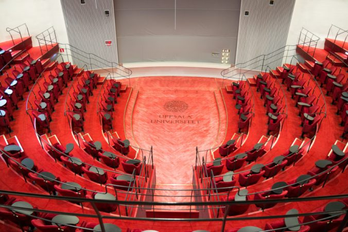 """The interior of """"Humanities Theatre"""". Photo: Mikael Wallerstedt."""