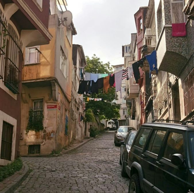 Photograph of the Balat district, home to many Istanbul migrants. Credit: Asli Aydin (2018)