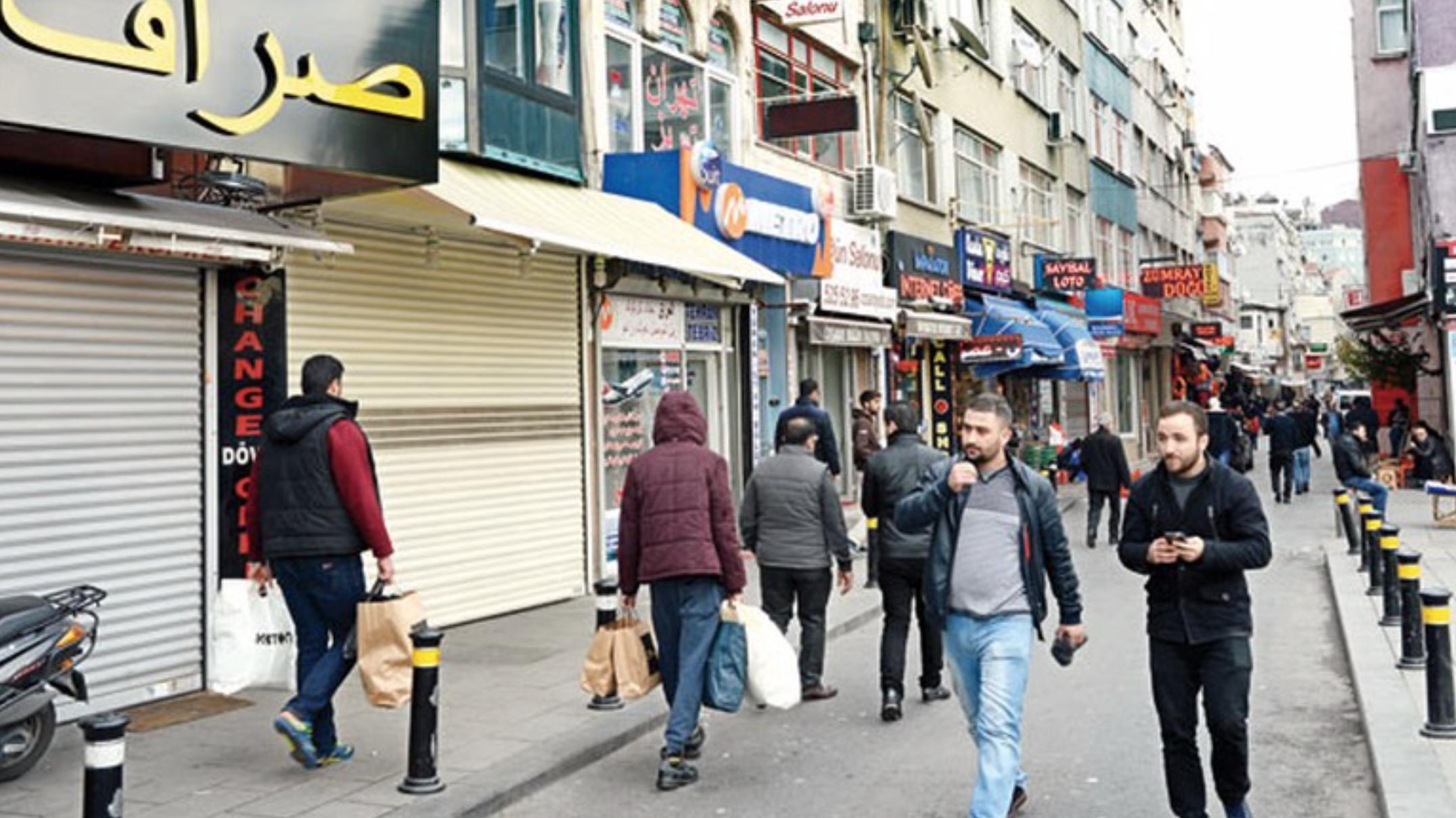 A Syrian diasporic space, Fatih, Istanbul