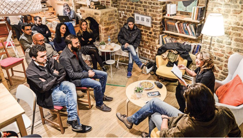 A Syrian Bookstore in Fatih