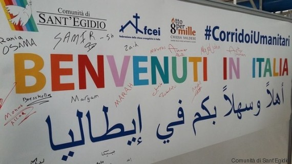 The 'humanitarian corridors' constitute an innovative project launched in 2015 with a Memorandum of Understanding between the Ministry of Foreigner Affairs, the Ministry of the Interior, the Community of Sant'Egidio (Comunità di Sant'Egidio), the Federation of Protestant Churches in Italy (Federazione delle Chiese Evangeliche in Italia) and the Waldensian Evangelical Church (Chiesa Evangelica Valdese). To date, around 2000 people (mostly Syrians) have arrived in Italy through the 'humanitarian corridors'. Currently, two 'corridors' are active (with Lebanon and Ethiopia) (see    https://www.santegidio.org/pageID/30112/langID/it/CORRIDOI-UMANITARI.html   ).