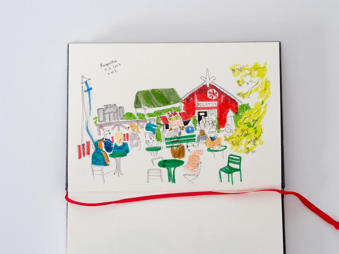 Kahvilapäiväkirja / Cafe Regatta