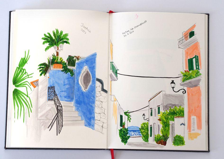 Matkapäiväkirja / Ischia, Italy 2018
