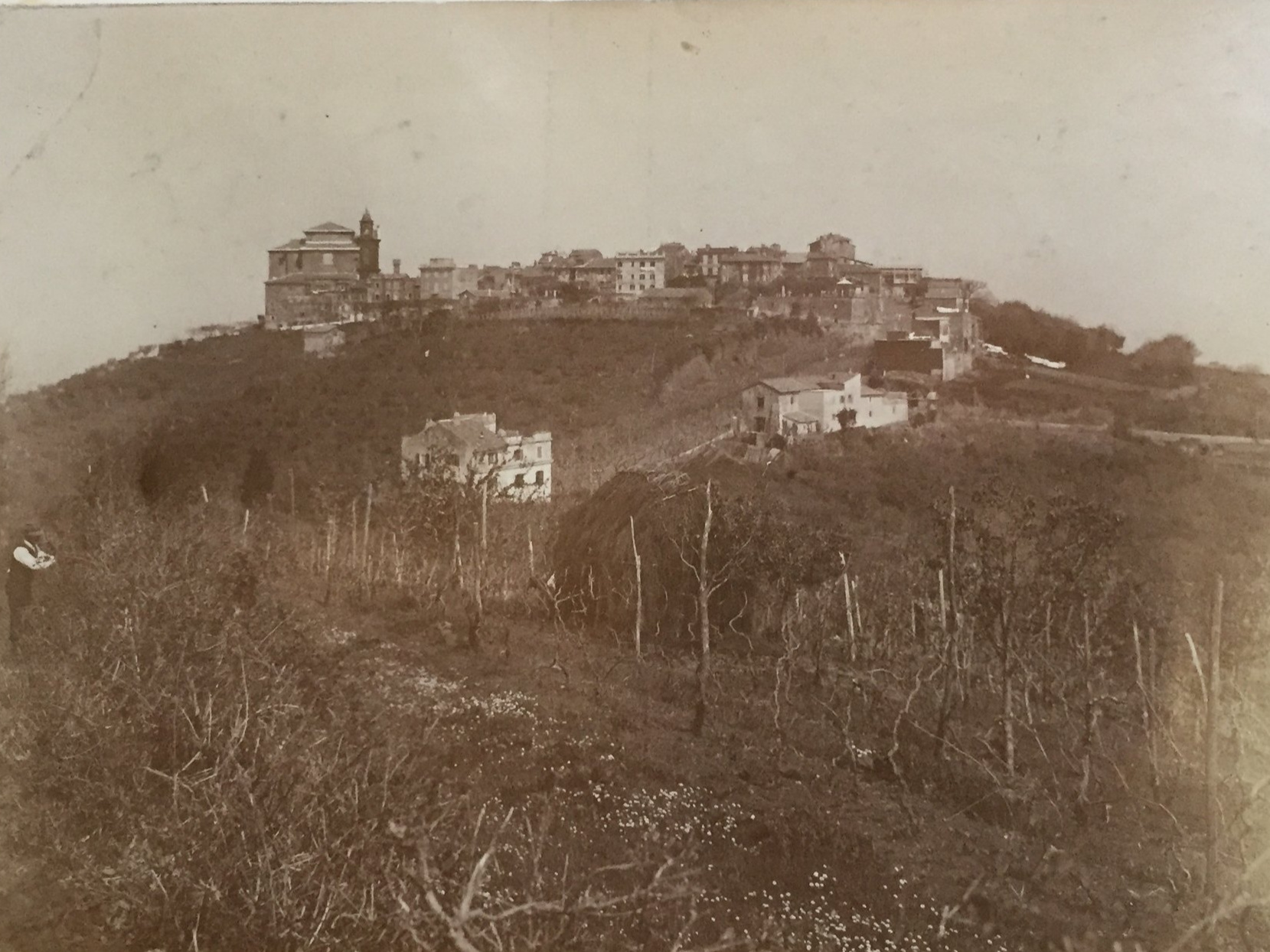 Monte Porzio Catone, 1909   All of the images of Monte Porzio below are taken from an album of photographs of 1909 and 1910 in the Venerable English College Archives.