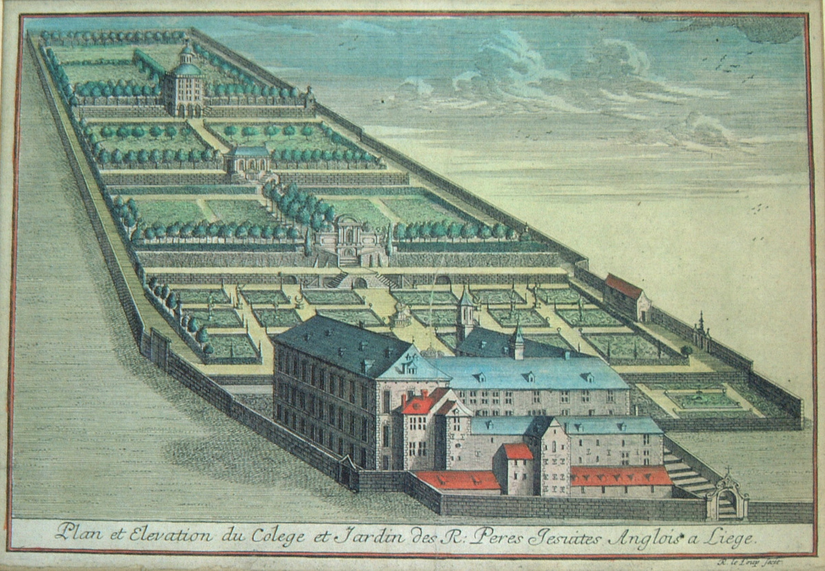 The English College, Liège, in the seventeenth century