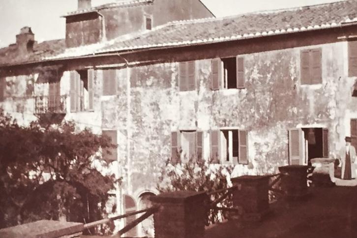 The villa at Monte Porzio, 1909