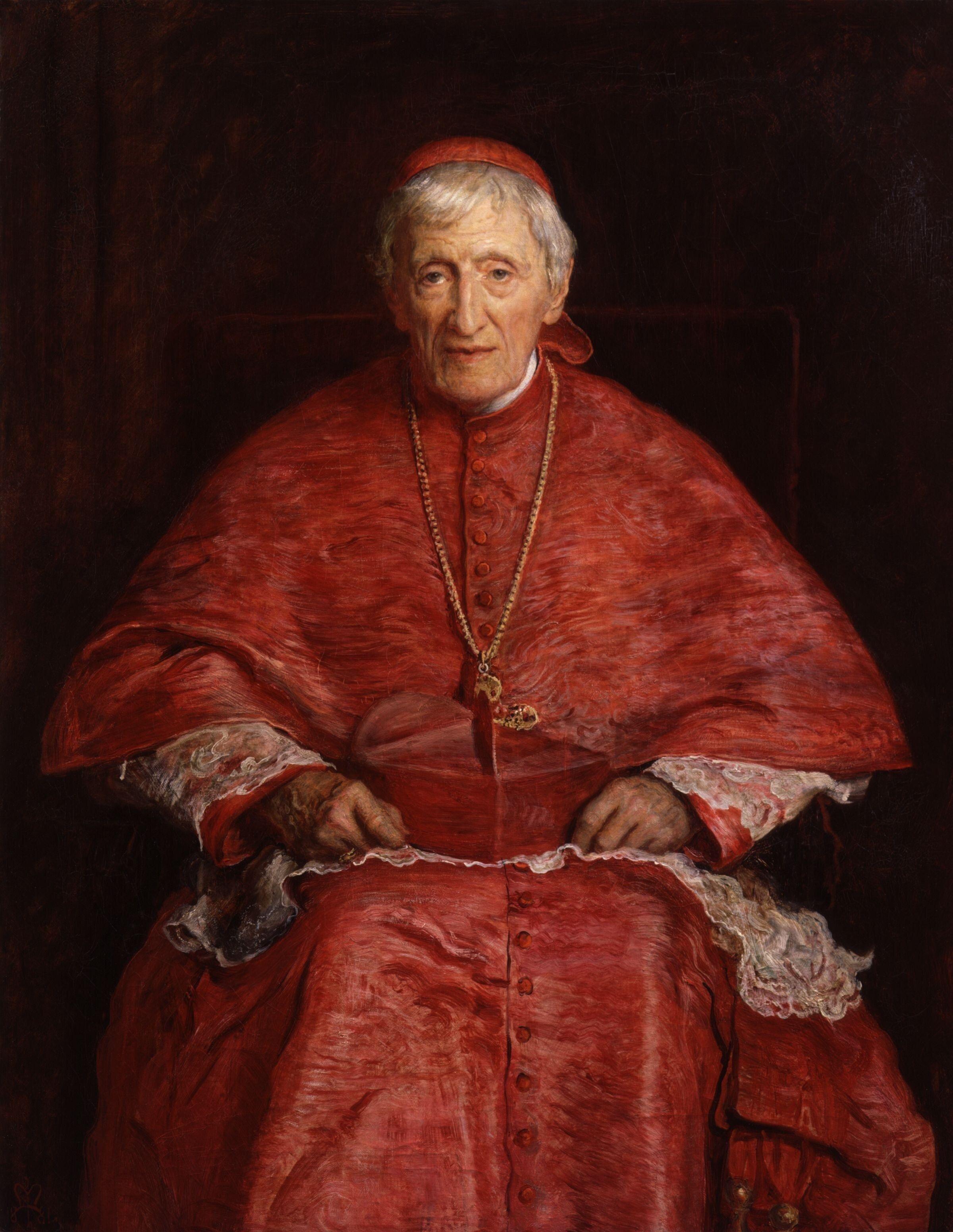 Cardinal John Henry Newman , by Sir John Everett Millais, 1881