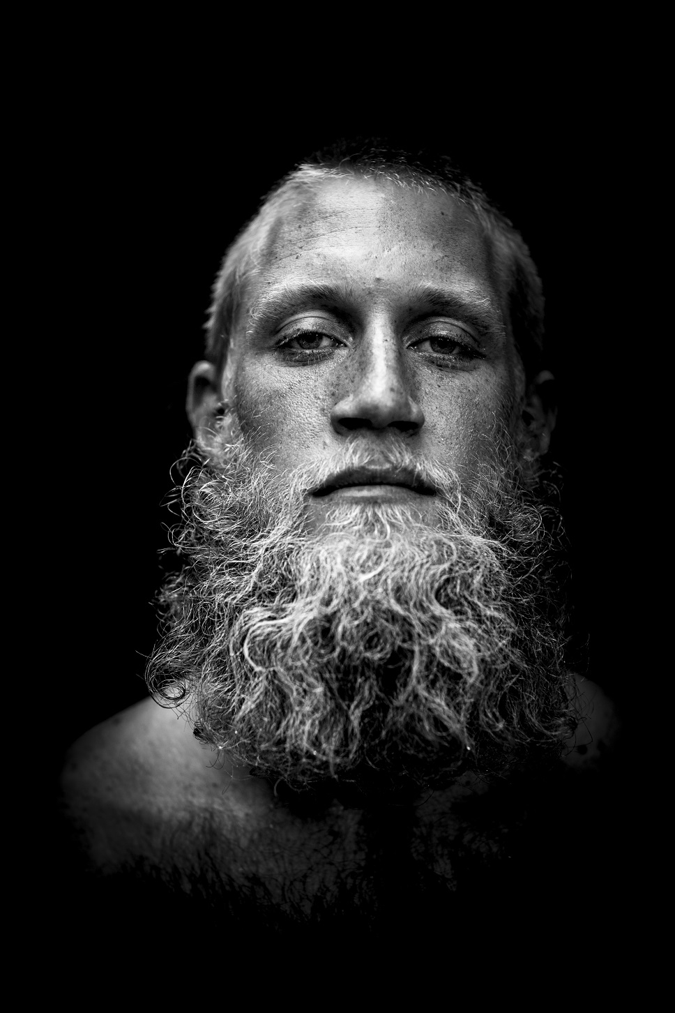 oahu headshot photographer man black & white portrait