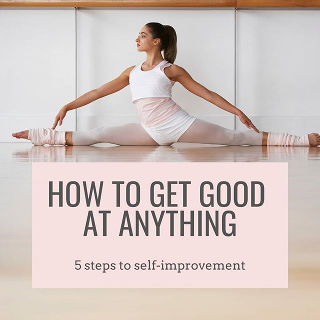 How to get good at anything . We all have things we want to improve on - whether that be movements in the gym, aspects of our nutrition and lifestyle, relationships, parallel parking… you name it. And that's great! I think we should all have things we are working on. It keeps us on our toes, you know? . So I thought long and hard… and I've managed to boil my approach to 5 steps. Here we go. In no particular order, here's what you can do to get good at anything: . ✔Know your WHY ✔Practice - a lot ✔Get coaching ✔Cultivate humility ✔Work hard . You can learn more about each tip on my blog (link in bio). . What's one thing you're working to get better at? I challenge you to tell me using only emojis!!