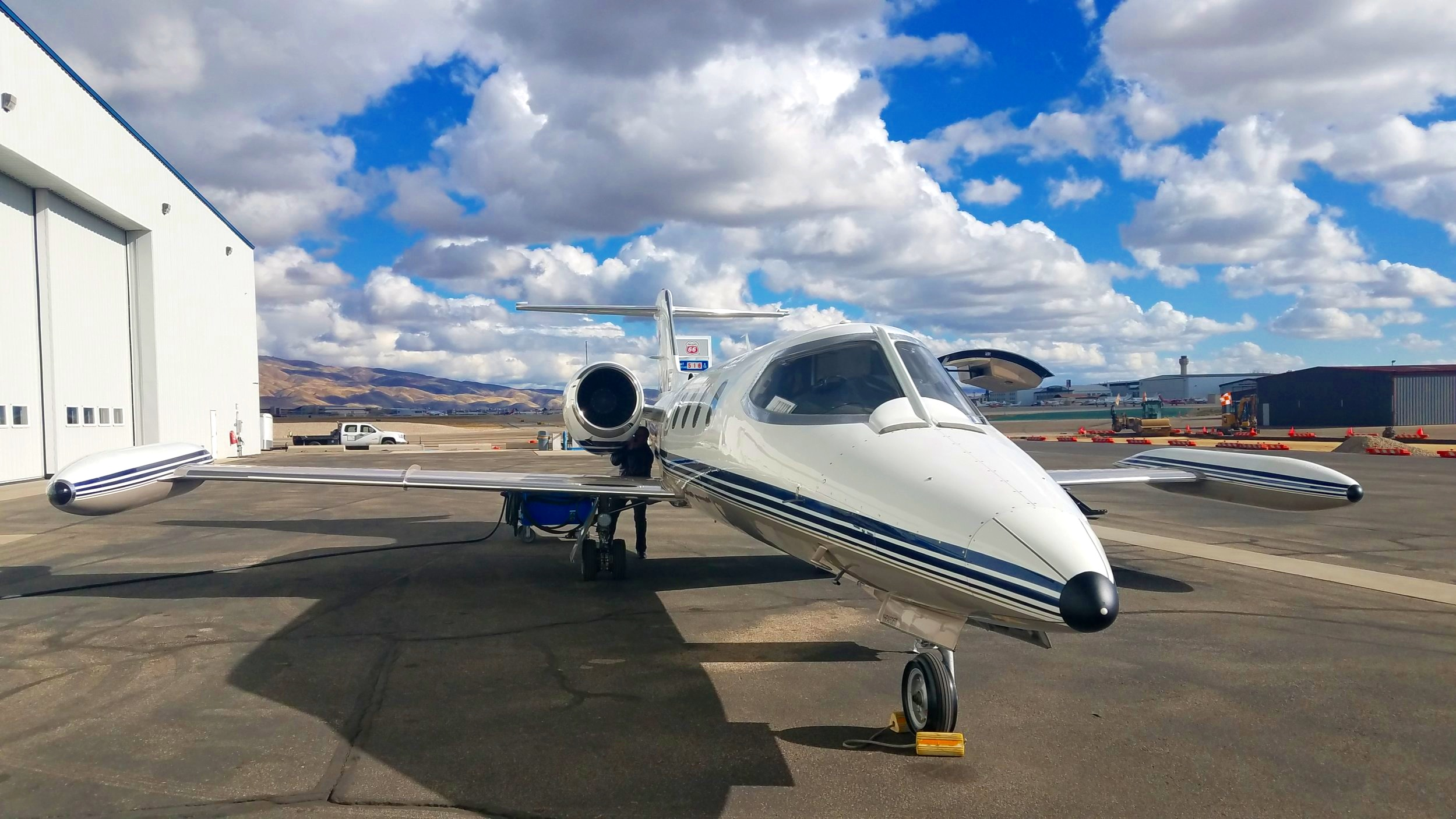 Type rating in a LearJet and service to Air Ambulance, saving lives as you fly.