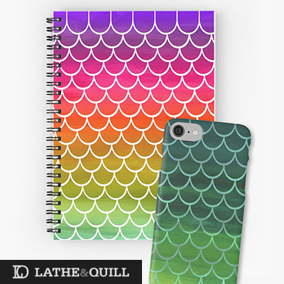 designed to look like rainbow scales, or dragon, or monster