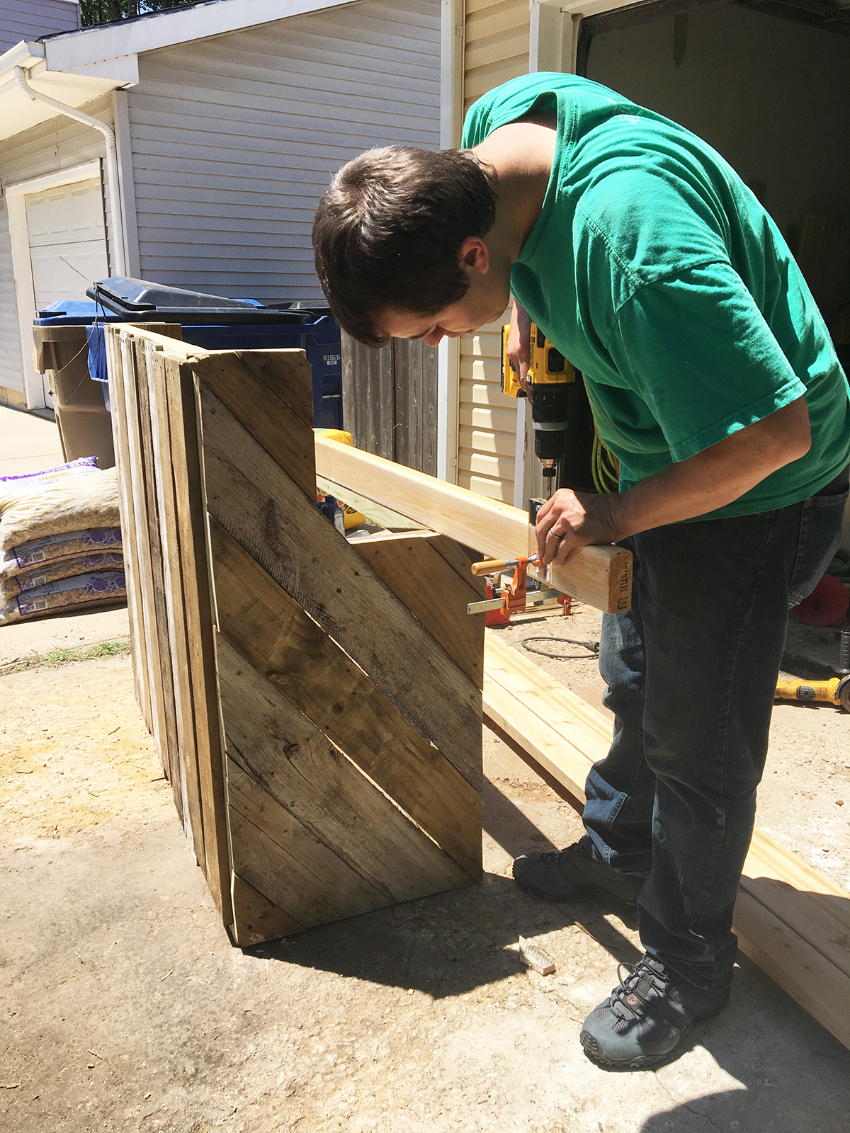Woodworking is Tyler's passion and he puts it into everything he builds