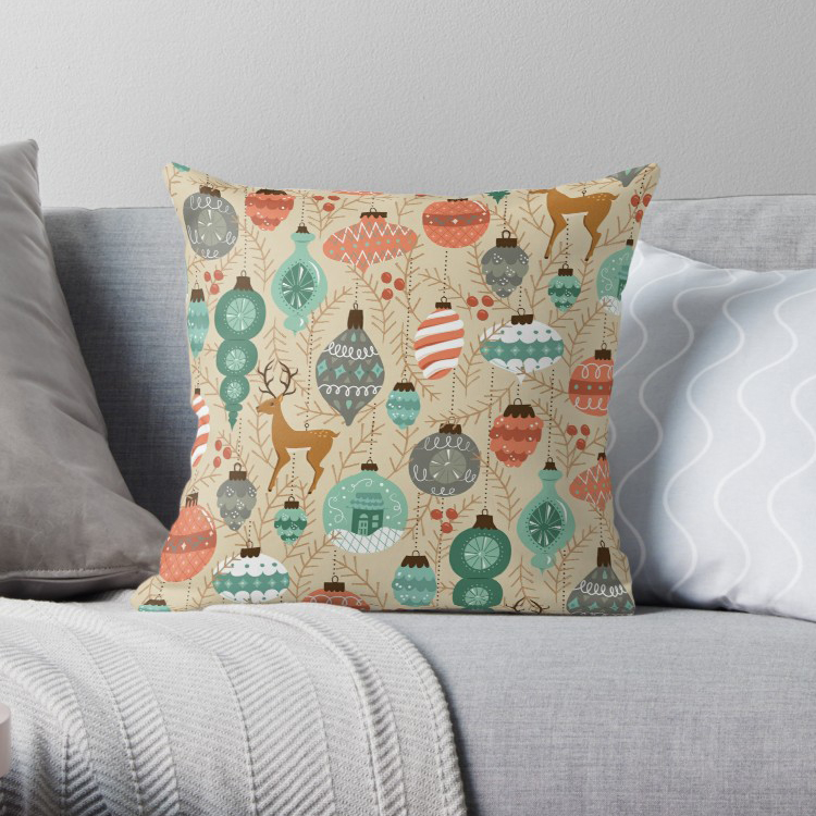Cute Holiday pillow cover. Change your pillow cases around to celebrate every season