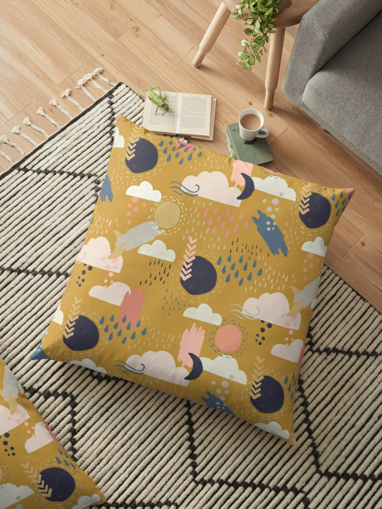 I love curling up with a good book and this accurately textured design makes home feel cozy.
