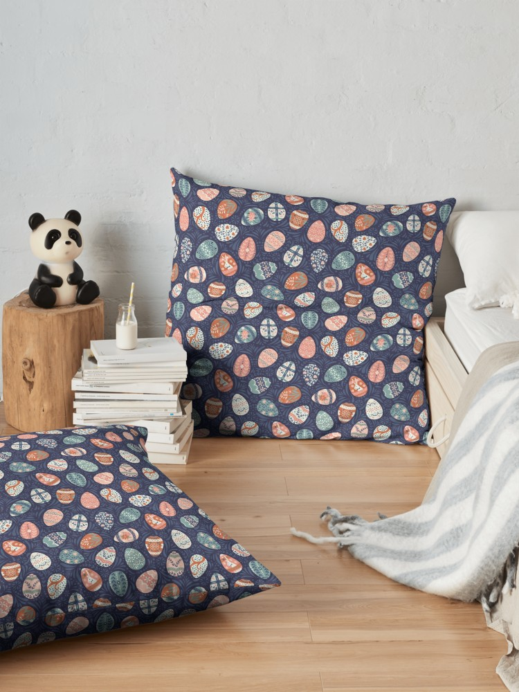 Cozy up with my spring easter pattern in scandinavian style palette