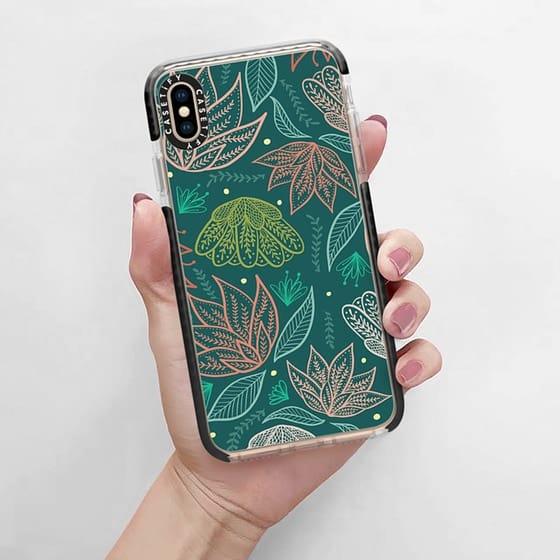 I love dressing up my iphone case to suit my mood or current passion, and florals are always a must for spring.