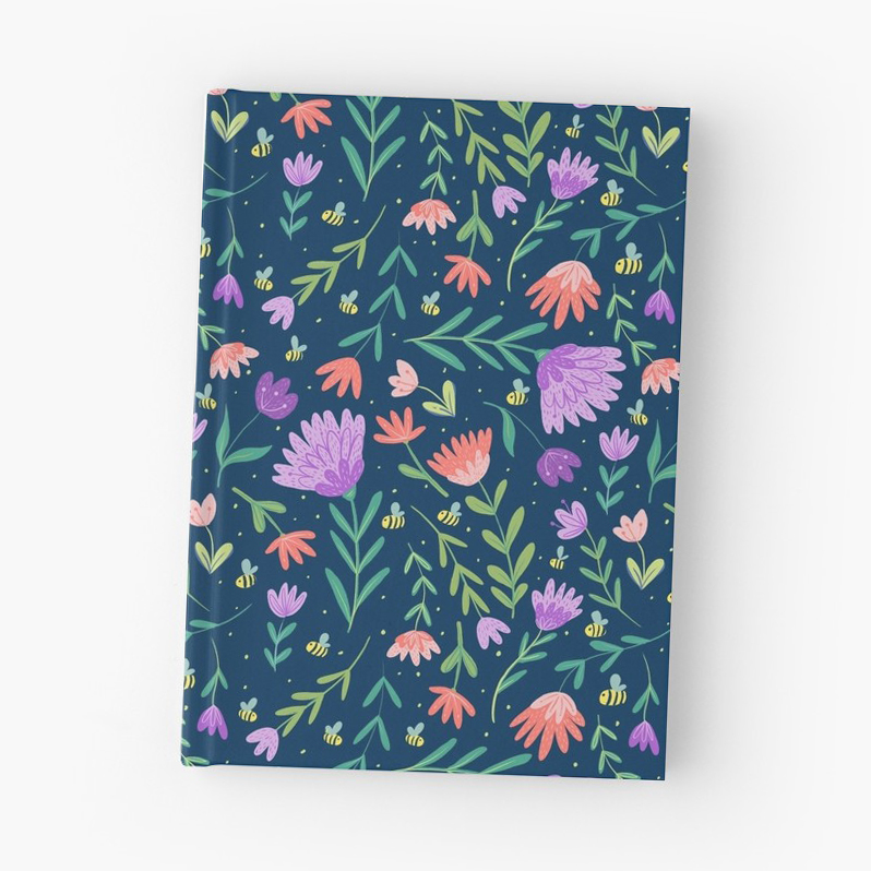 Notebooks are the perfect place to journal or write music or start your own doodles or notes for the next great idea.