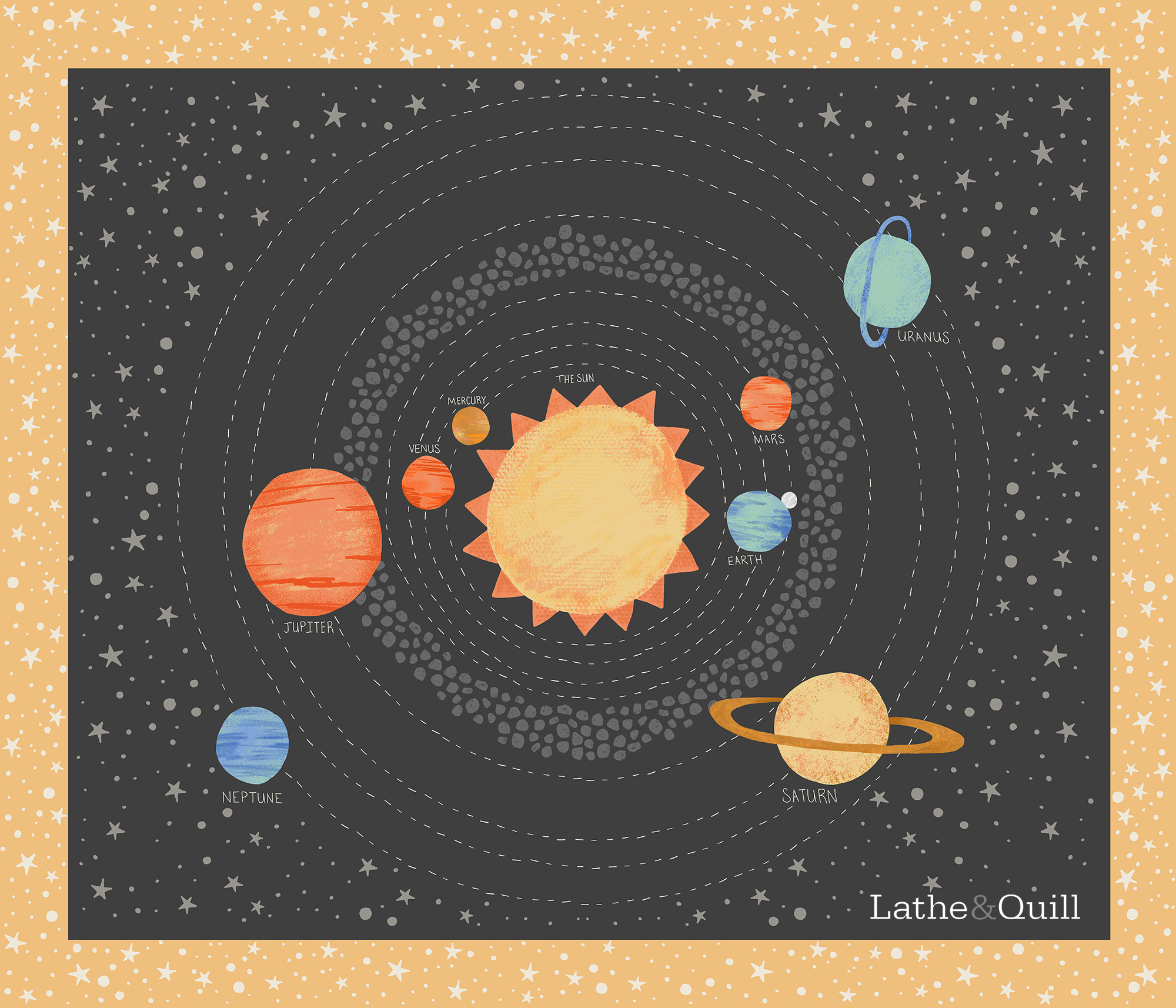 Playmat for kids who love space weather its for tummy time or space exploration this mat is so cute