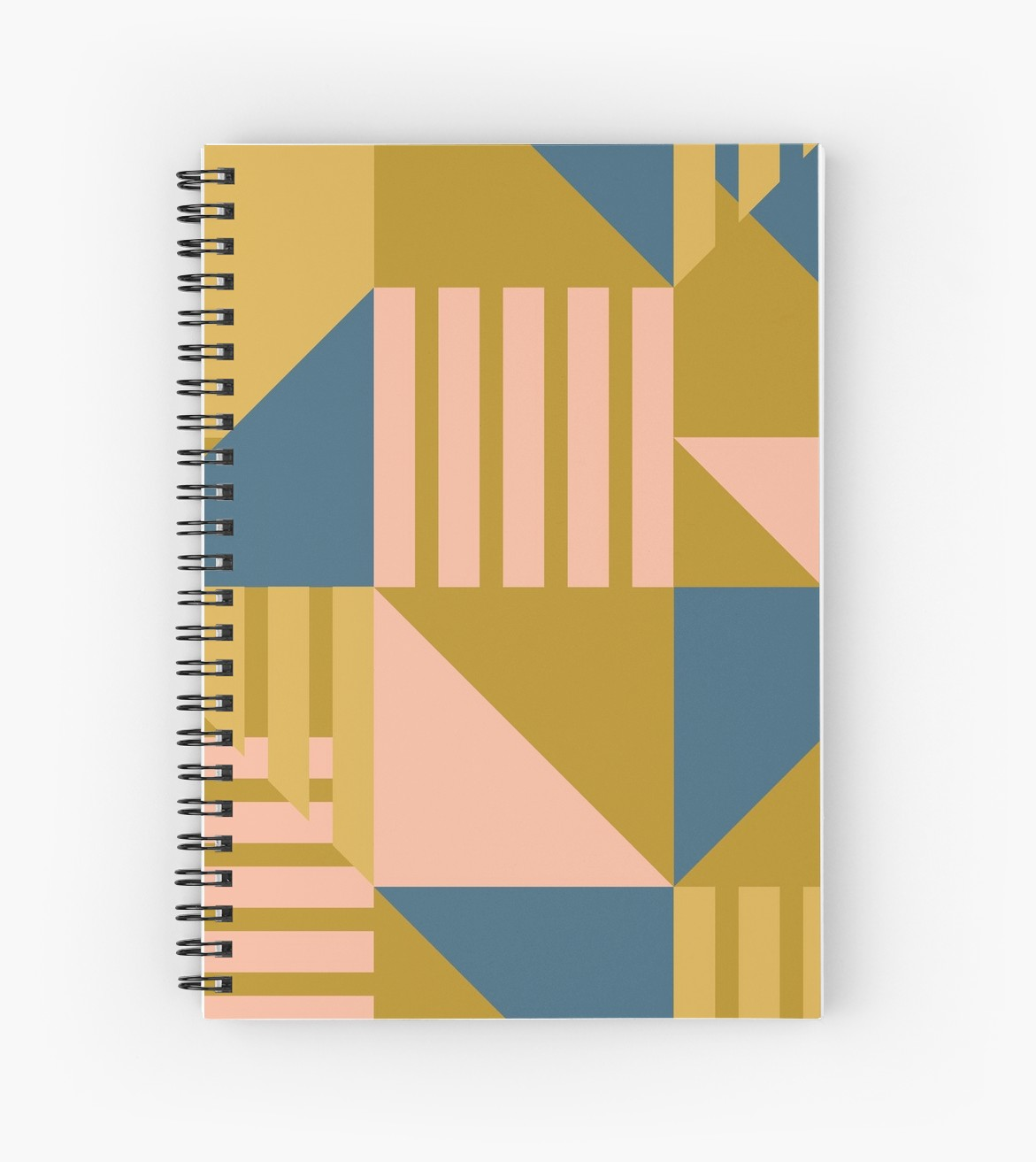 Notebook in gold, navy and pink one of my favorite new palettes.