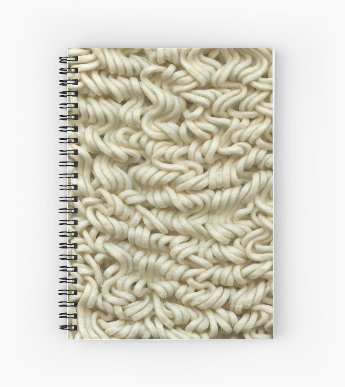 Sketchbook or journal covered in your favorite food