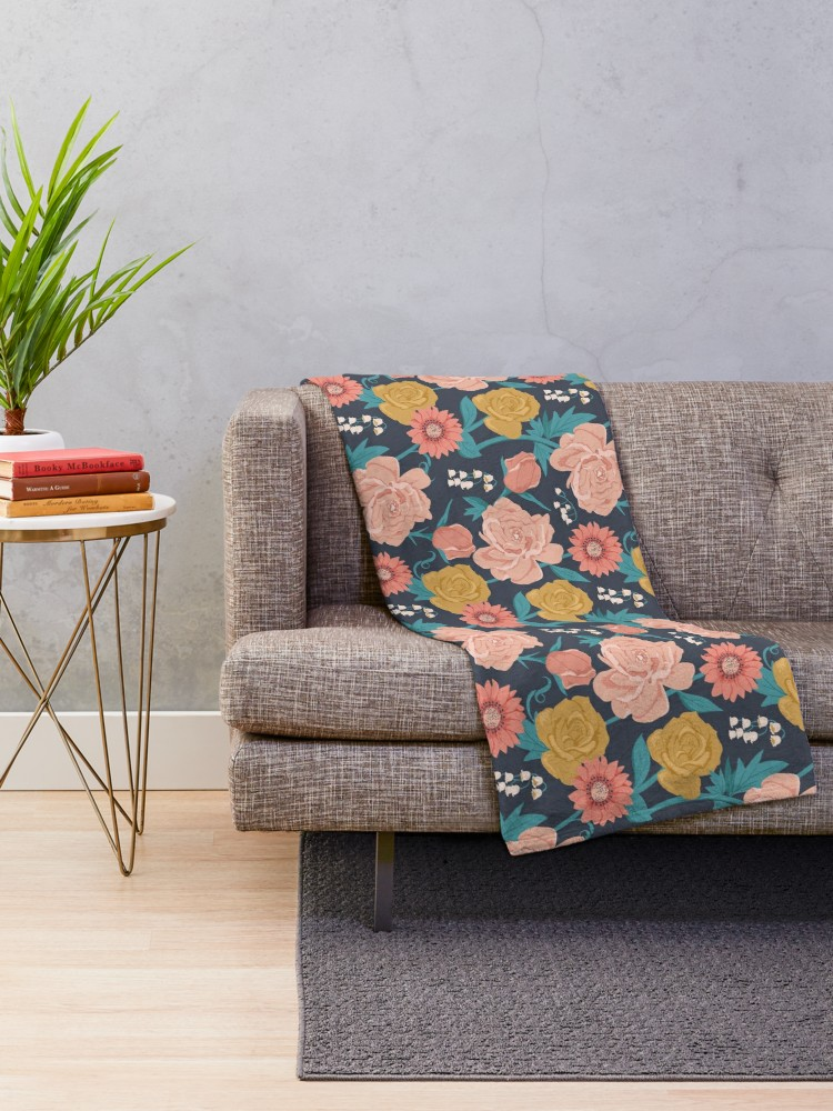 Cuddly throw blankets are new at redbubble and a great way to add some color and beautiful art into your boring beige living room