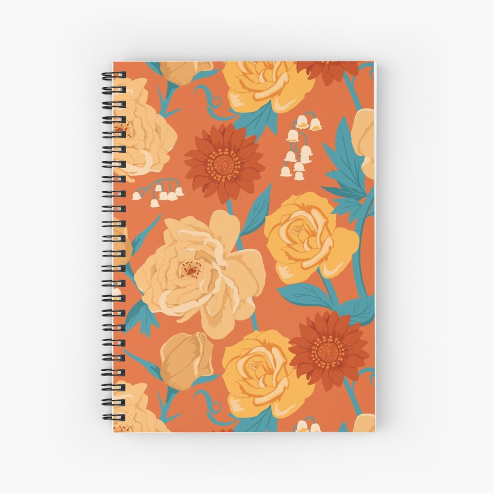 This color palette really stands out among the rest in warm and yellow hues and makes an excellent notebook for journaling, sketching, or writing your next book.