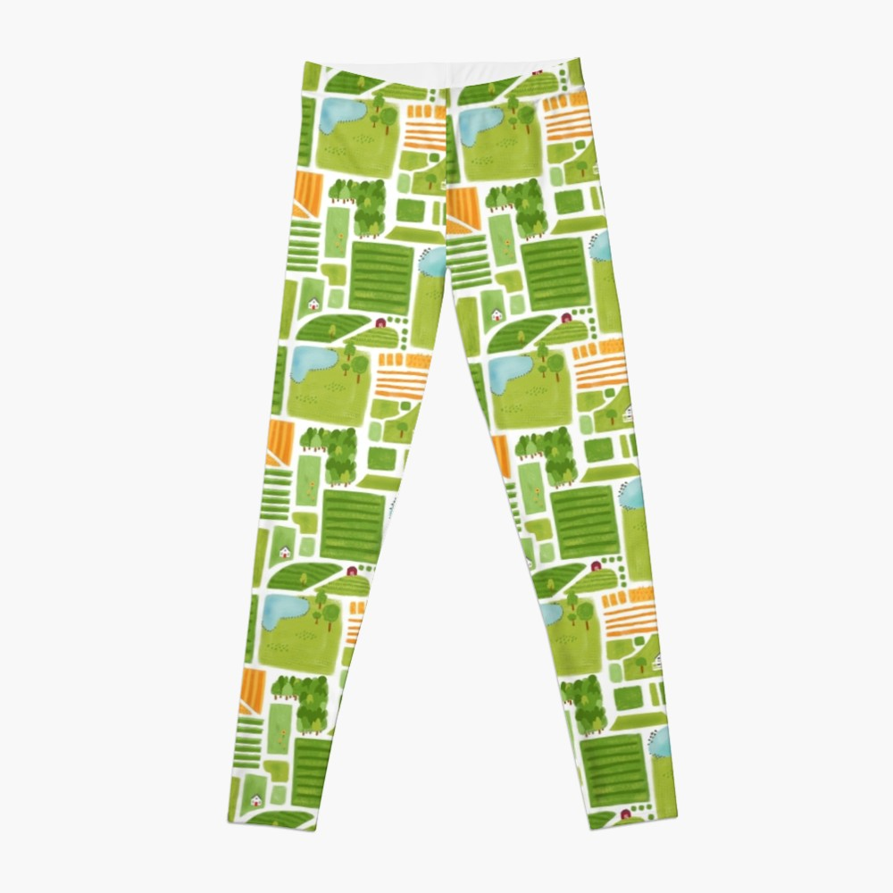 Leggings are a fun way to represent this art piece and make it a part of your leisurewear wear