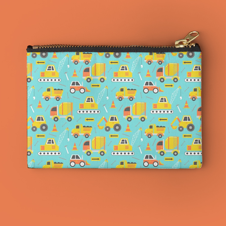 Zipper catch all pouches are perfect for my son to store animal cracker snacks or we love them for keeping track of art supplies like crayons and markers