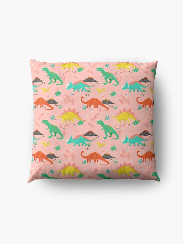 Dino patterns are one of my favorite things to design so this pattern was a lot of fun and would look amazing on a lot of different applications such as pillows, dresses, and blackout curtains.