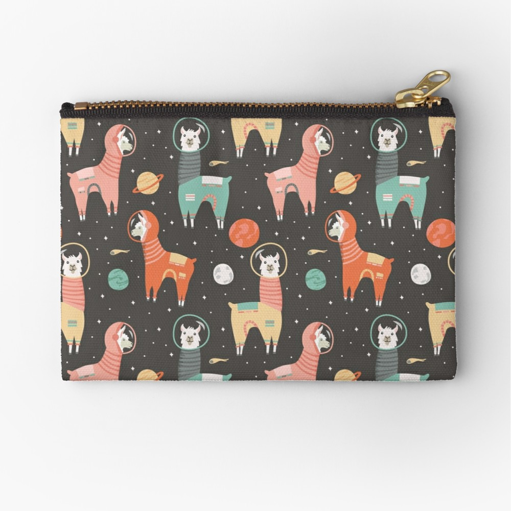 My favorite zipper pouch now comes with space llamas what could be better than staying organized on the go with an adorable llama