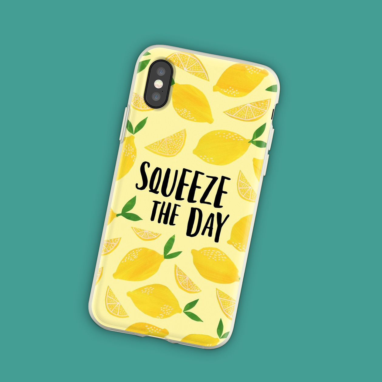 Keep your smartphone protected and take a little motivation wherever you go seize the day