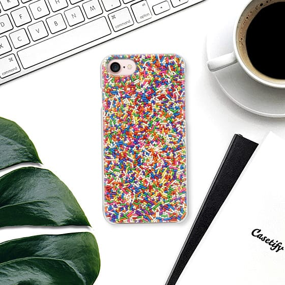 Rainbow Sprinkle Phone Case the perfect phone to make everyday a party celebration